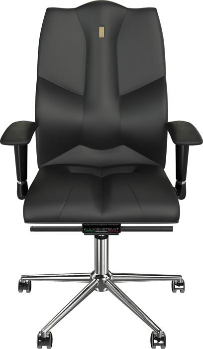 Компьютерное кресло Kulik System Business, цвет: черный