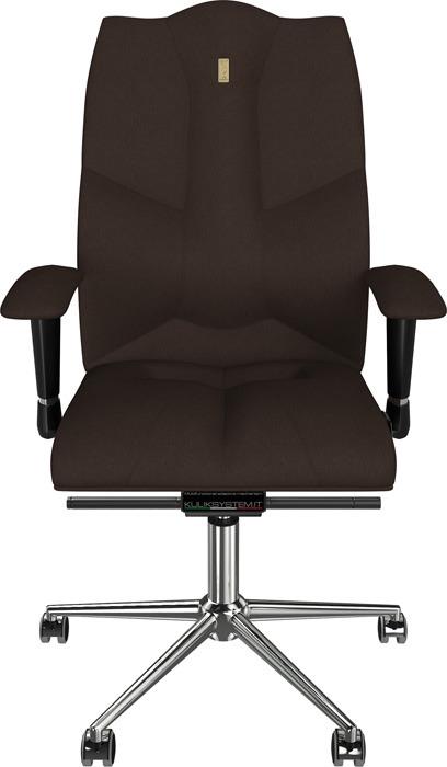 Компьютерное кресло Kulik System Business, цвет: шоколад азур и азмар