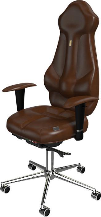 Компьютерное кресло Kulik System Imperial, цвет: коричневый
