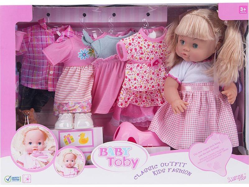 Кукла Wei Tai Toys. wttT8206 куклы и одежда для кукол wei tai toys кукла с аксессуарами 35 см wtt6407