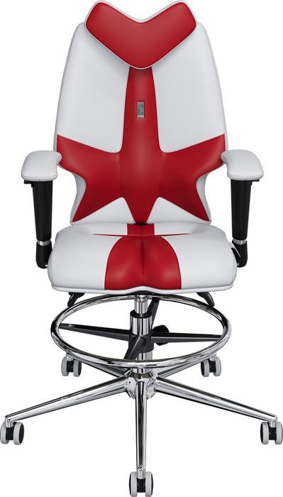 Кресло детское Kulik System Fly, белый, красный