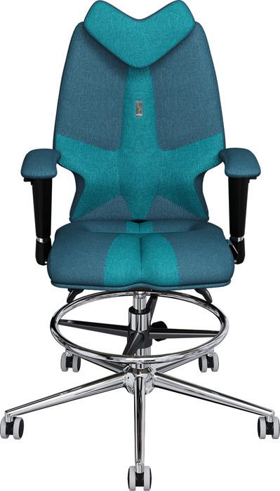Кресло детское Kulik System Fly, джинс, бирюзовый