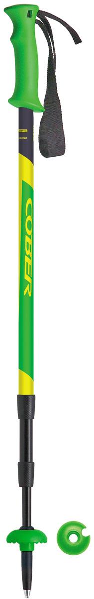 Палка для трекинга Cober Anapurna 3, цвет: зеленый, 110-140 см Cober