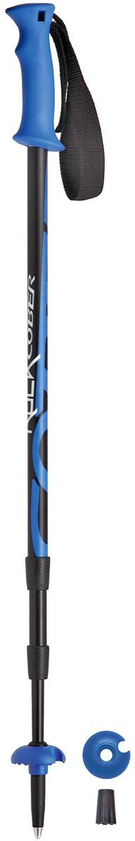 Палки для трекинга Cober Rock, цвет: синий, 110-140 см