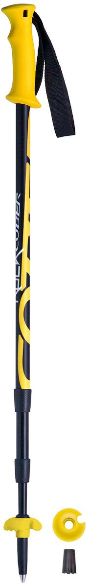 Палки для трекинга Cober Rock, цвет: желтый, 110-140 см