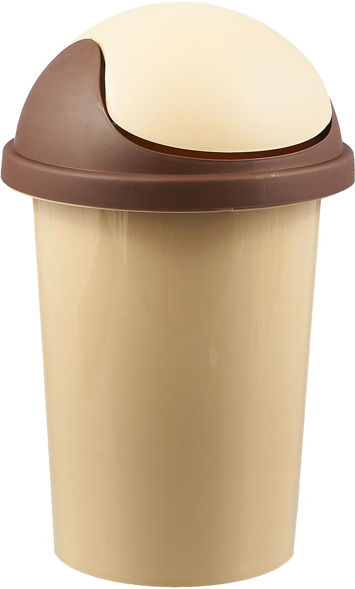 Контейнер для мусора Plastic Centre, цвет в ассортименте, 10 л контейнер для мусора plastic centre цвет бежевый коричневый 7 л