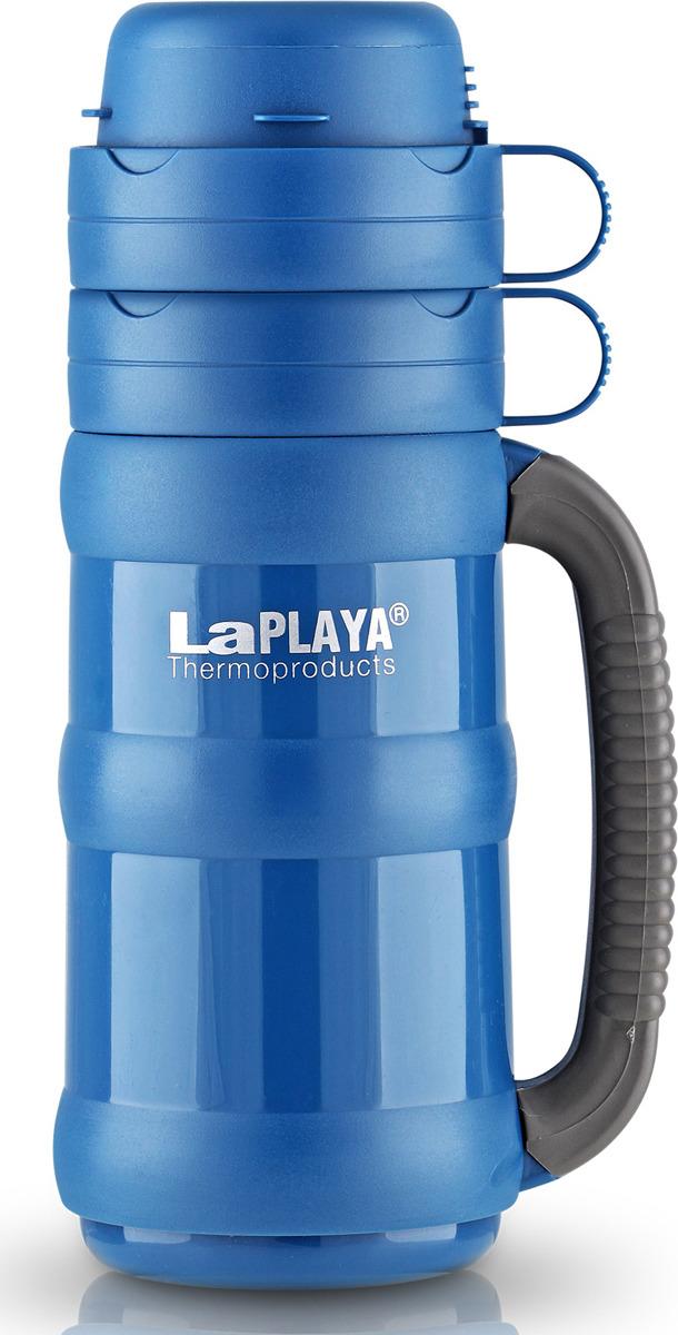 Термос LaPlaya Traditional Glass, цвет: синий, 1,8 л термос со стекляной колбой vialli design