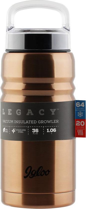Термос Igloo Legacy, цвет: бронзовый, медный, 1 л сурская мебель кухонный гарнитур настя 11