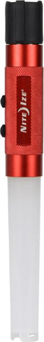 Фонарь светодиодный NiteIze 3-in-1 LED FlashStick, цвет: красный, 60 Люм