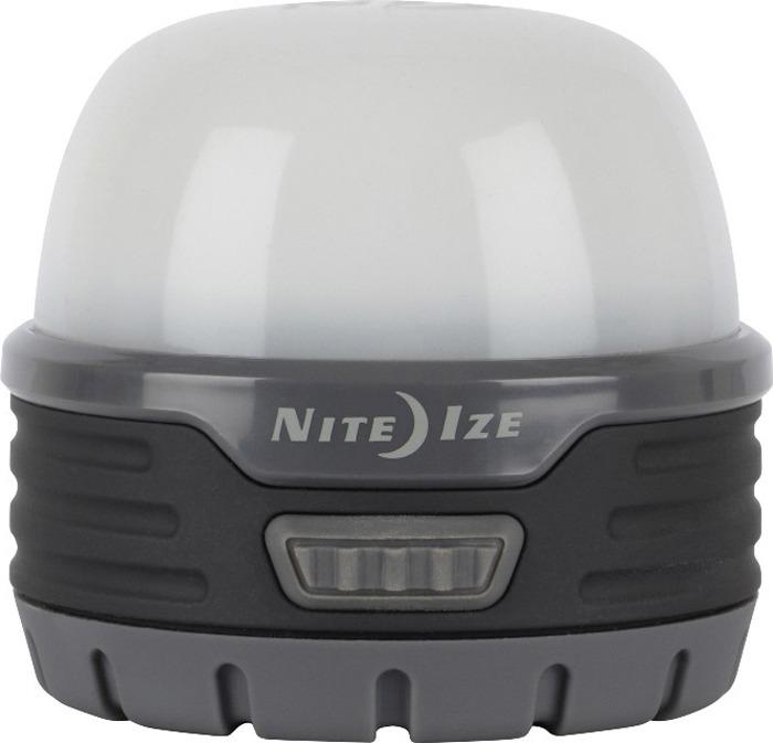 Фонарь кемпинговый NiteIze Radiant, R100ML-09-R8, серый, светодиодный, 100 Люмен