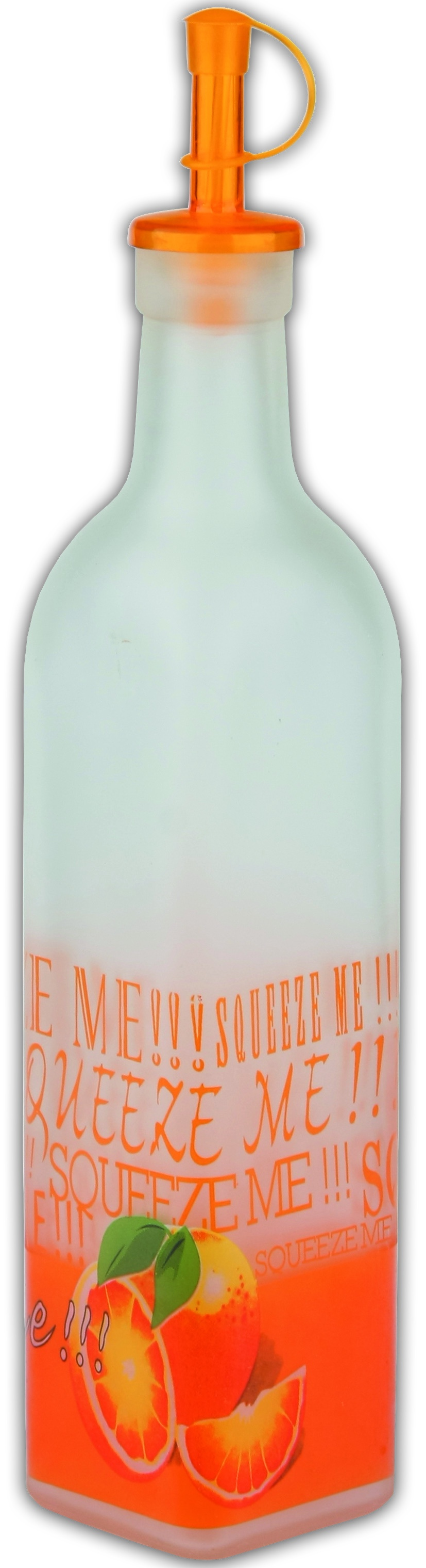Бутылка для хранения масла Bohmann 01 - 400 BHG (апельсин), с пробкой, 0,5 л бутылка для масла ceramiche viva фреско томаты и перцы 0 4 л