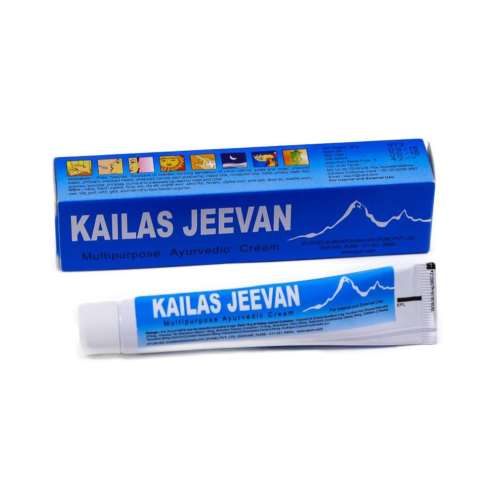 Мазь-бальзам Kailas Jeevan, 20 гр. KJ01 стоимость