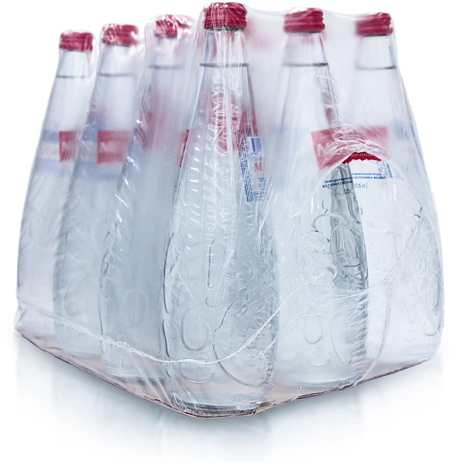 Вода питьевая негазированная Мевер, 500 мл х 12 шт, стекло
