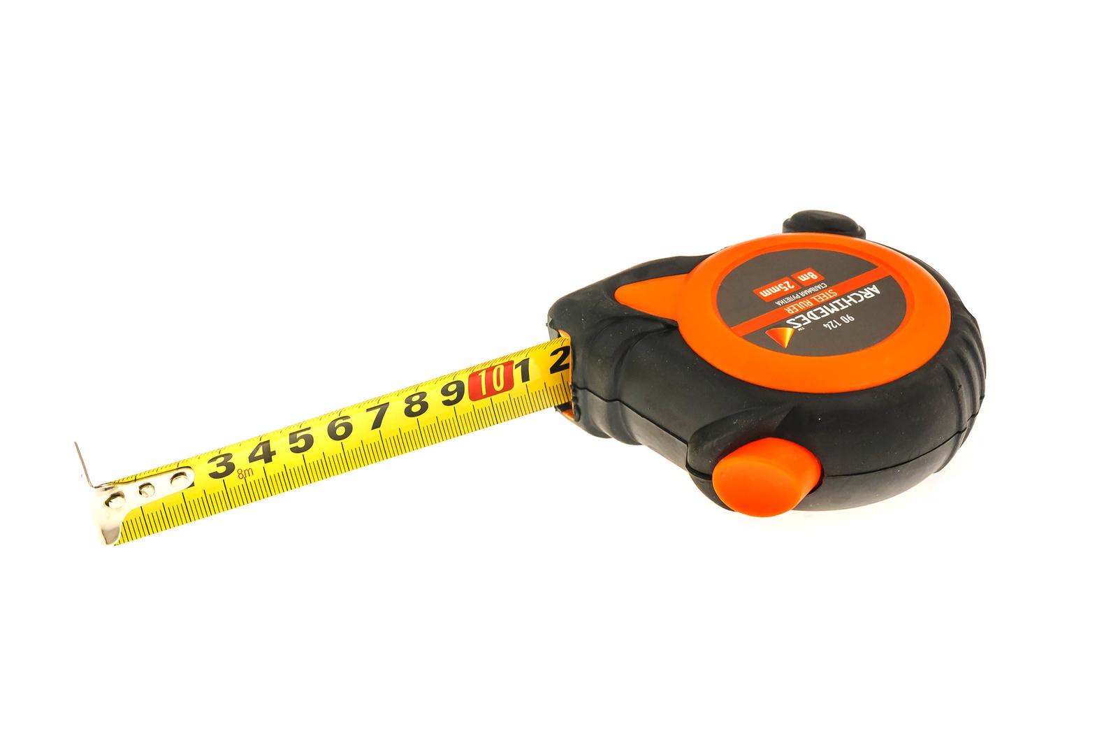 Измерительная рулетка с автостопом Archimedes 8мх25мм рулетка jettools 8мх25мм 8jt31x