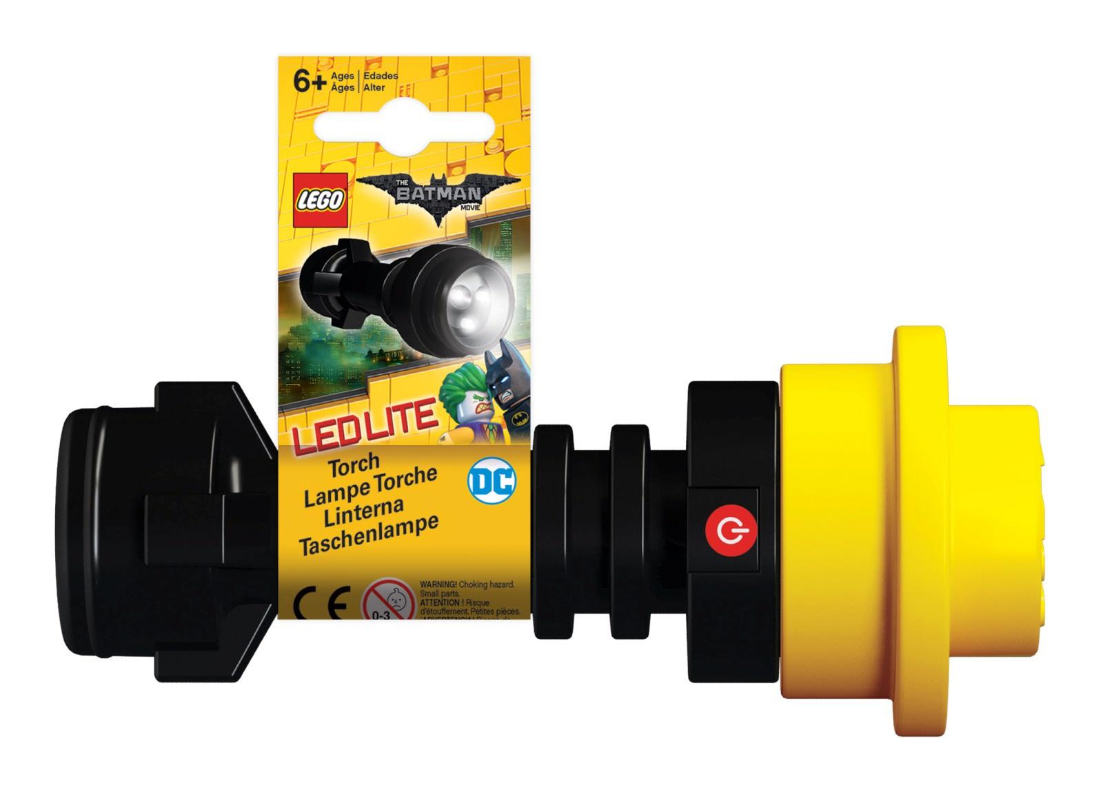 Фонарик Lego The Batman Movie, цвет черный, желтый