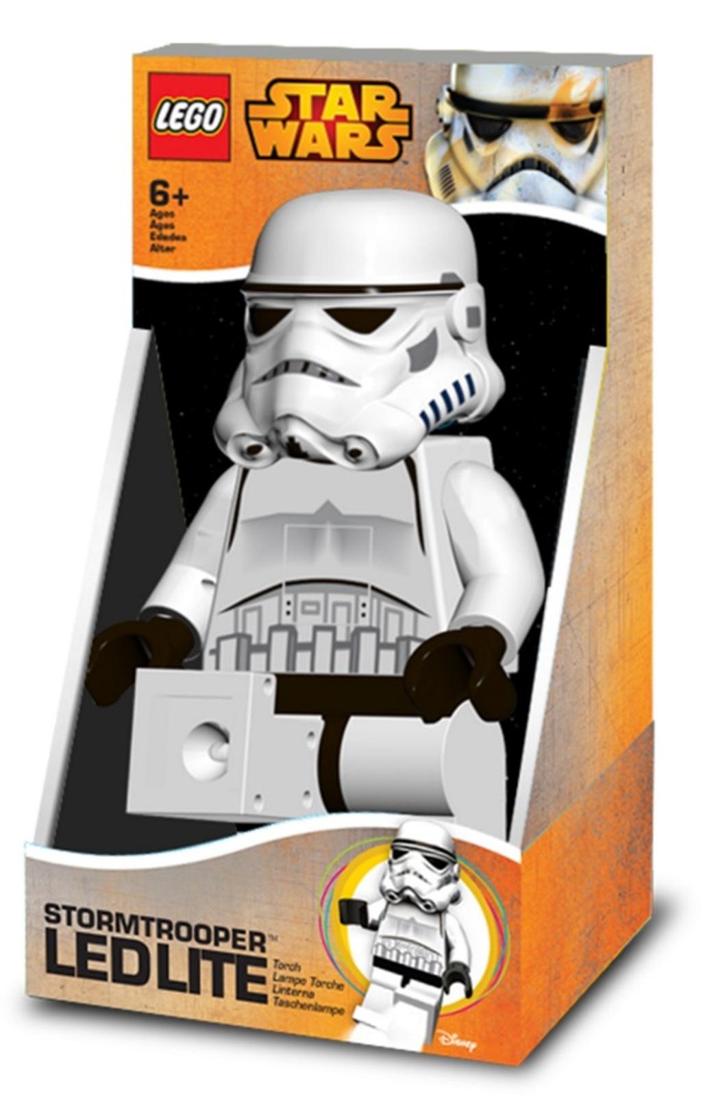 Игрушка-минифигура-фонарь Lego Star Wars Stormtrooper, цвет: белый