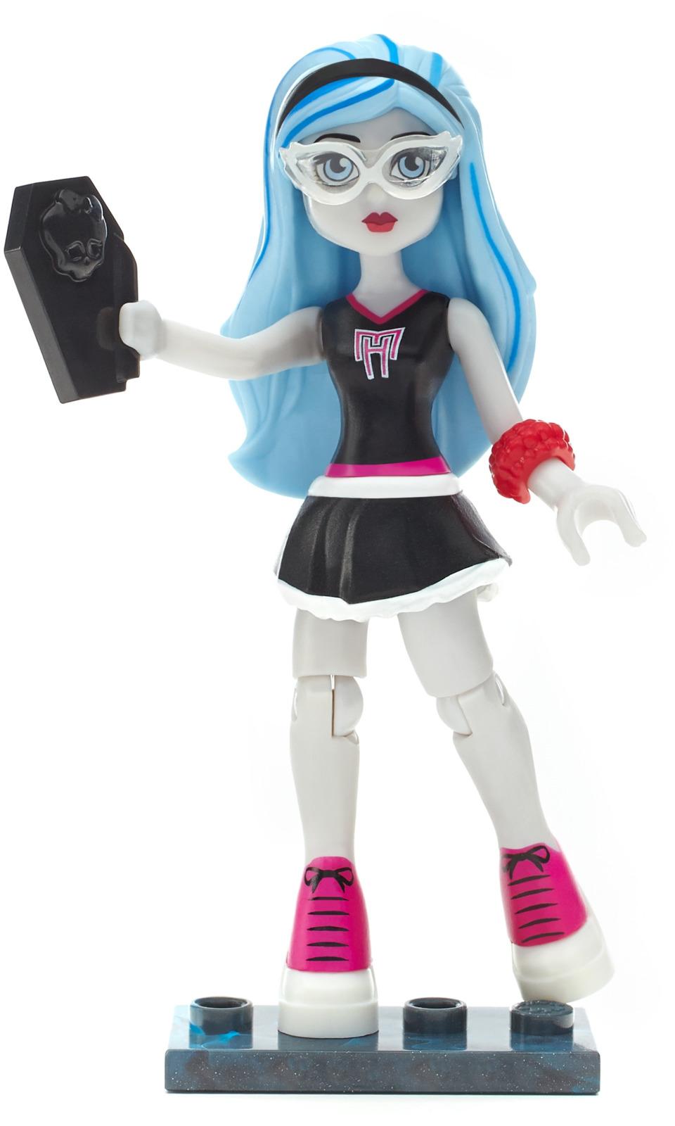 Mega Bloks Monster High Конструктор Ghoulia Yelps цена