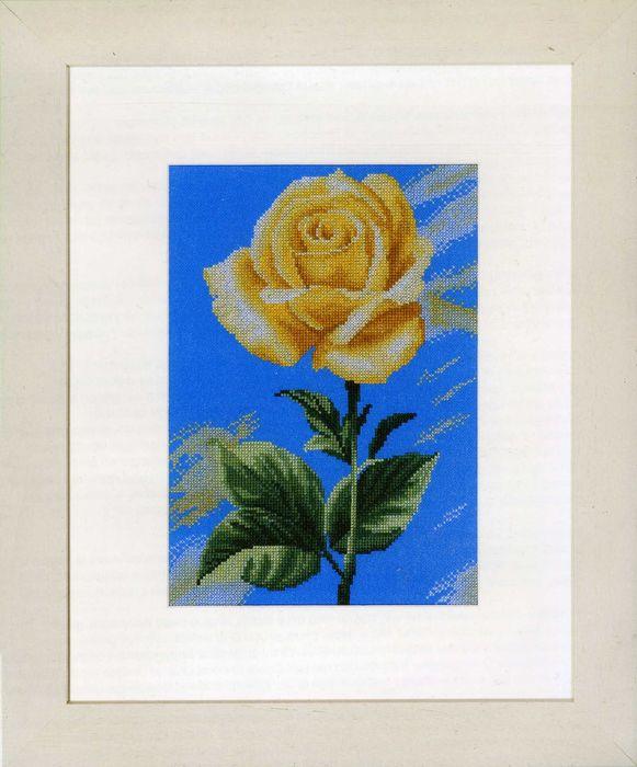 Набор для вышивания крестом Lanarte Yellow Rose on Blue, 20 х 28 см. PN-0008115PN-0008115LANARTE является одним из лидеров мирового рынка товаров для вышивания. Продукция этого бренда хорошо известна россиянкам, по достоинству оценившим замечательно проработанные схемы для вышивания и прекрасное качество комплектующих наборов. Картины, вышитые по наборам LANARTE, легко узнаваемы, имеют свой неповторимый стиль и напоминают изысканные нежные акварели.