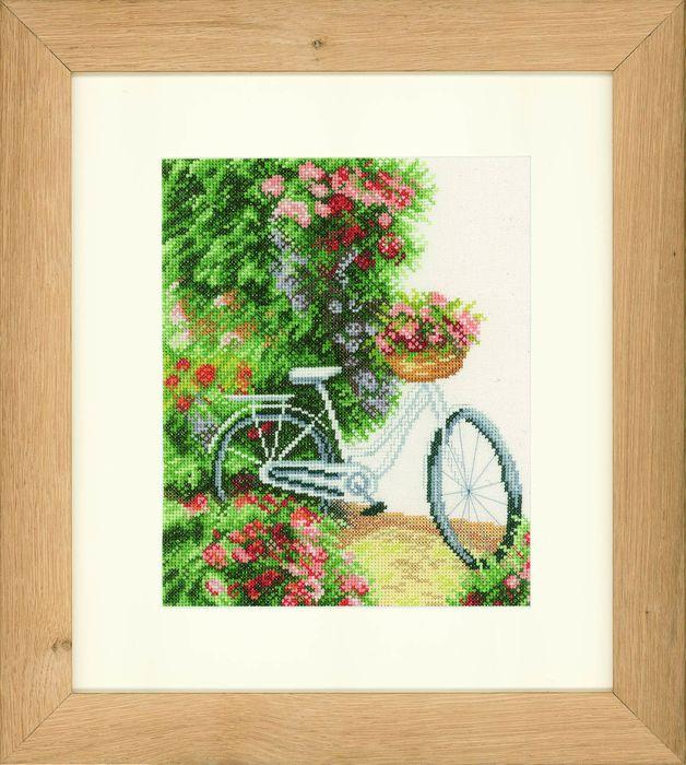 Набор для вышивания крестом Lanarte My Bicycle, 20 x 24 см. PN-0147935