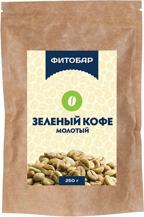 Кофейный напиток Фитобар Кофе зеленый молотый, 250 г