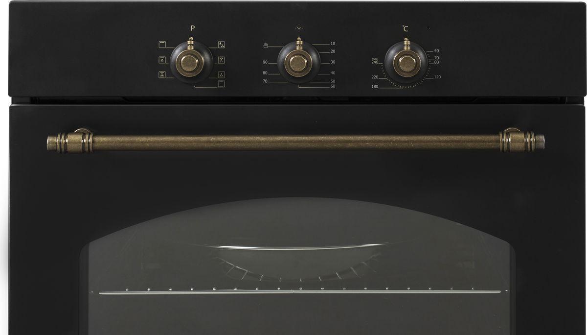 Духовой шкаф Simfer B6EL18017, электрический, встраиваемый электрический духовой шкаф simfer b6eo77017