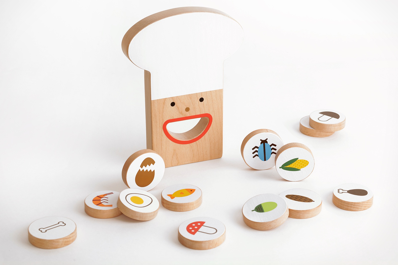 Игровой набор Shusha Съедобное-несъедобное, 00192 игры для малышей shusha развивающая игра съедобное несъедобное