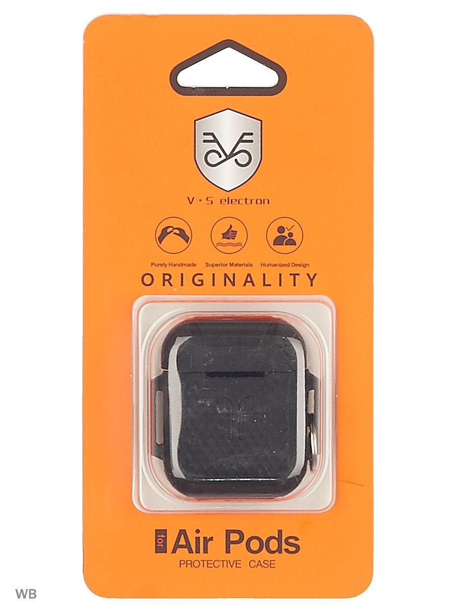 Чехол для сотового телефона Semolina Чехол для наушников AirPods, 4605180024189, черный аксессуар для наушников shure sha900 серебристый