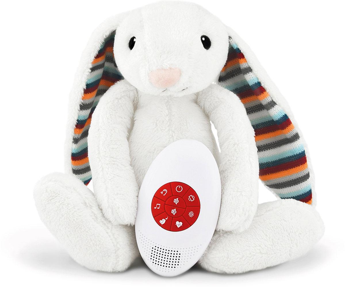 Мягкая игрушка-комфортер ZAZU Биби, музыкальная