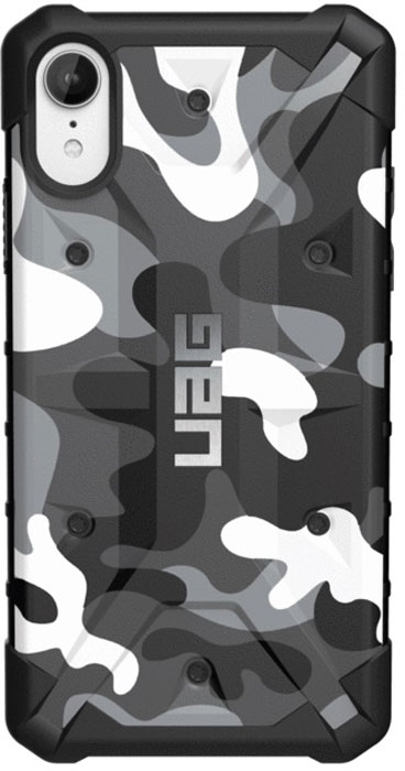 Защитный чехол UAG Pathfinder для iPhone XR, цвет: белый камуфляж