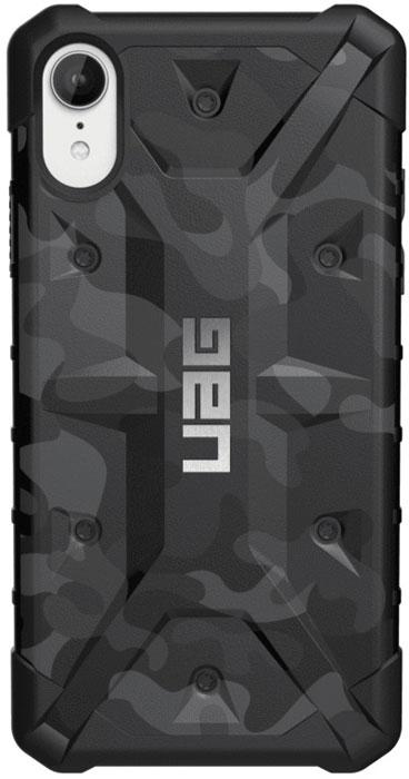 Защитный чехол UAG Pathfinder для iPhone XR, цвет: черный камуфляж