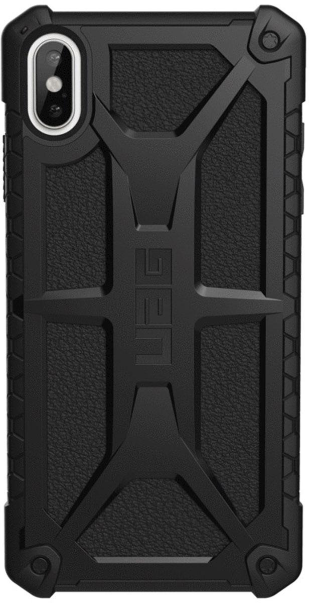 Защитный чехол UAG Monarch для iPhone XS Max, цвет: черный