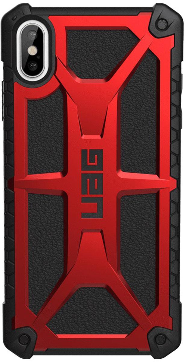 Защитный чехол UAG Monarch для iPhone XS Max, цвет: красный