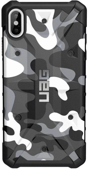 Защитный чехол UAG Pathfinder для iPhone XS Max, цвет: белый камуфляж