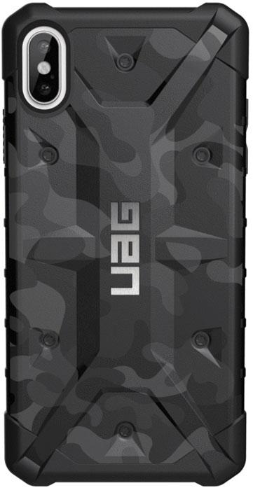 Защитный чехол UAG Pathfinder для iPhone XS Max, цвет: черный камуфляж