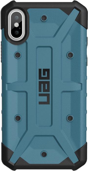 Защитный чехол UAG Pathfinder для iPhone X, цвет: графитовый