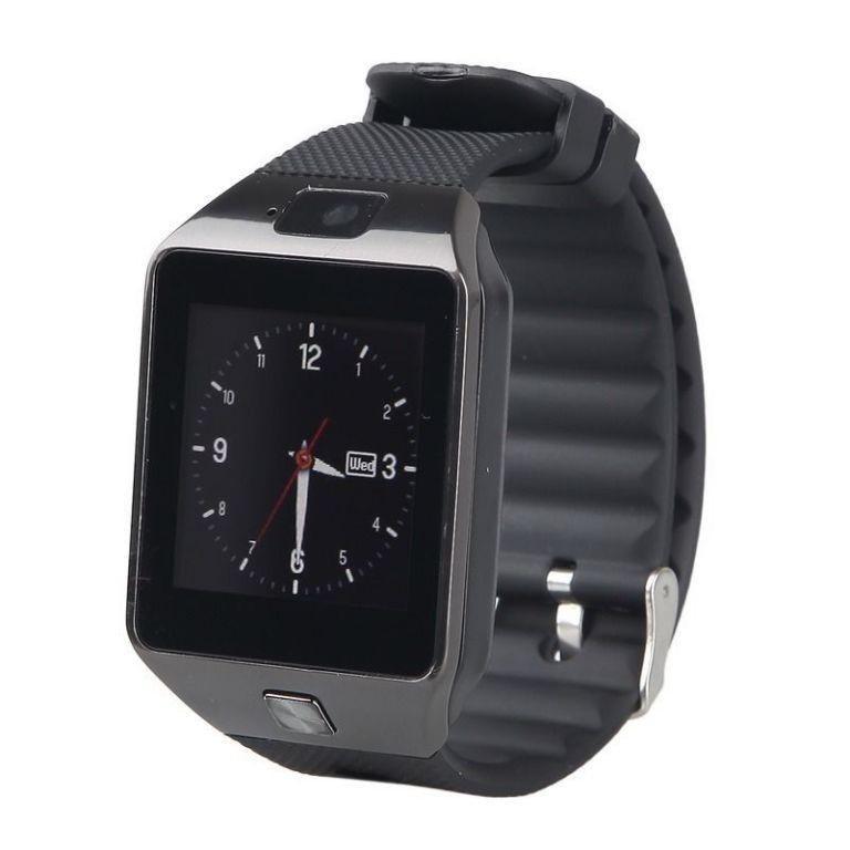Умные часы ZDK DZ09, black умные часы ginzzu® gz 701 black 50м android ios bluetooth мониторинг сна калорий физ активности