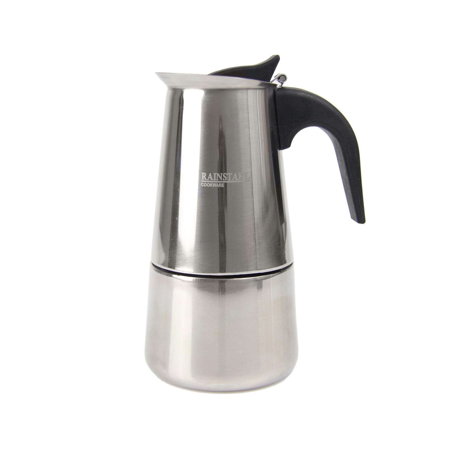 Кофеварка Rainstahl на 2 чашки кофеварка energy en 601 450вт кремовая 2 чашки