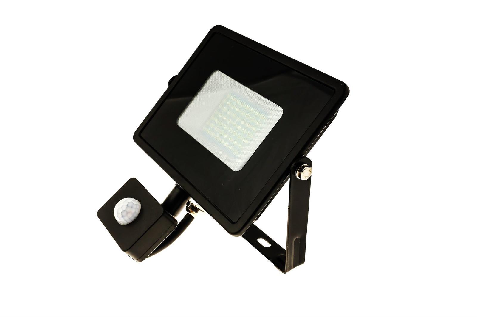 Прожектор Feron Светодиодный с датчиком движения LL-908, 50 Вт светодиодный прожектор ip65 50w желтый feron ll 275 12204