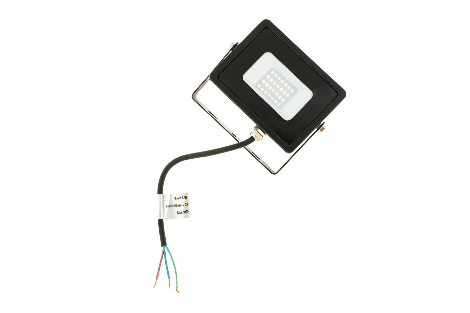 Прожектор Feron Светодиодный прожектор Feron LL-920 черный 32101, 30 Вт светодиодный прожектор ip65 50w желтый feron ll 275 12204