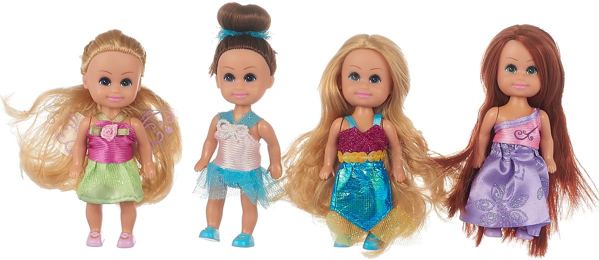 лучшая цена Funville Набор мини-кукол Маленькие друзья 4 шт