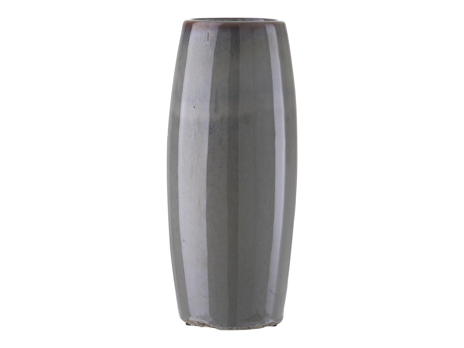 Ваза A Simple Mess Ursula керамическая, цвет: серый, высота 26 см. SM963342 ваза no brand высота 27 5 см