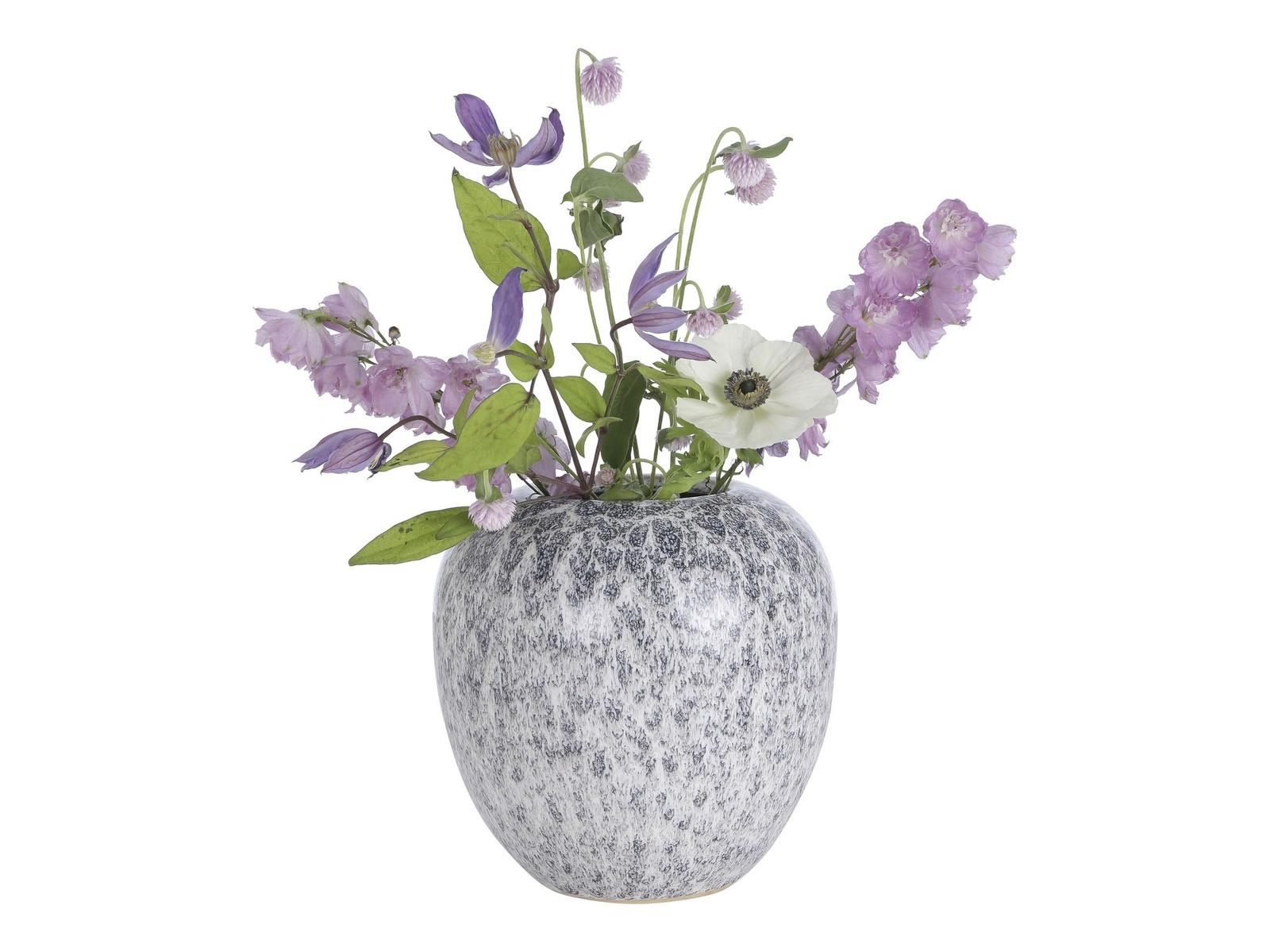 Ваза A Simple Mess Yst керамическая, цвет: мультиколор, высота 19 см. SM963705 ваза nina glass грейси цвет оранжевый высота 19 см