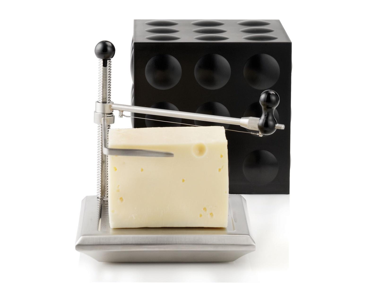 Сырорезка-куб Nuance, цвет: черный. NU461520 цена