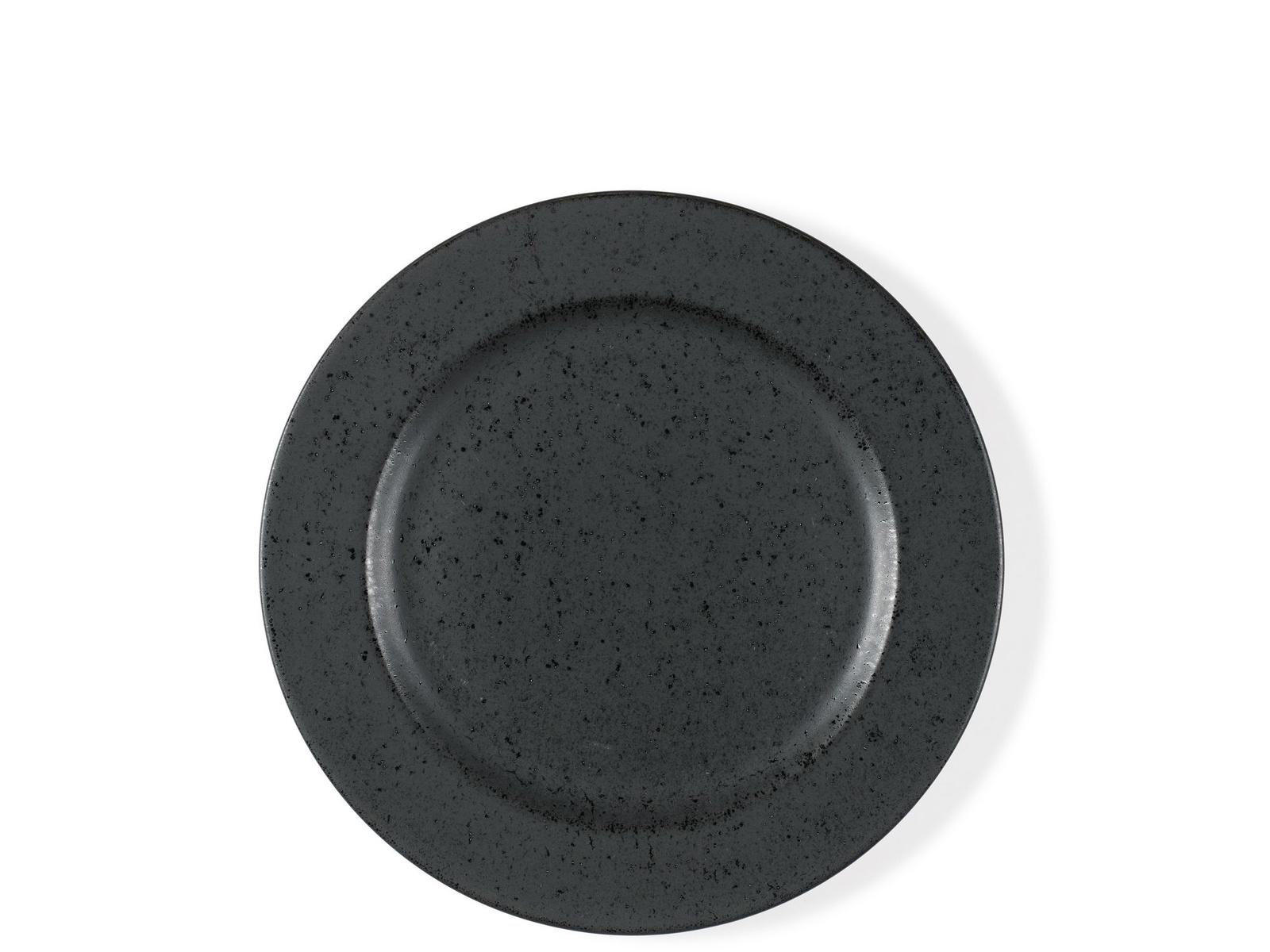 Десертная тарелка Bitz, цвет: черный. Диаметр 22,5 см. BT821078 тарелка десертная ломоносовская керамика диаметр 21 см