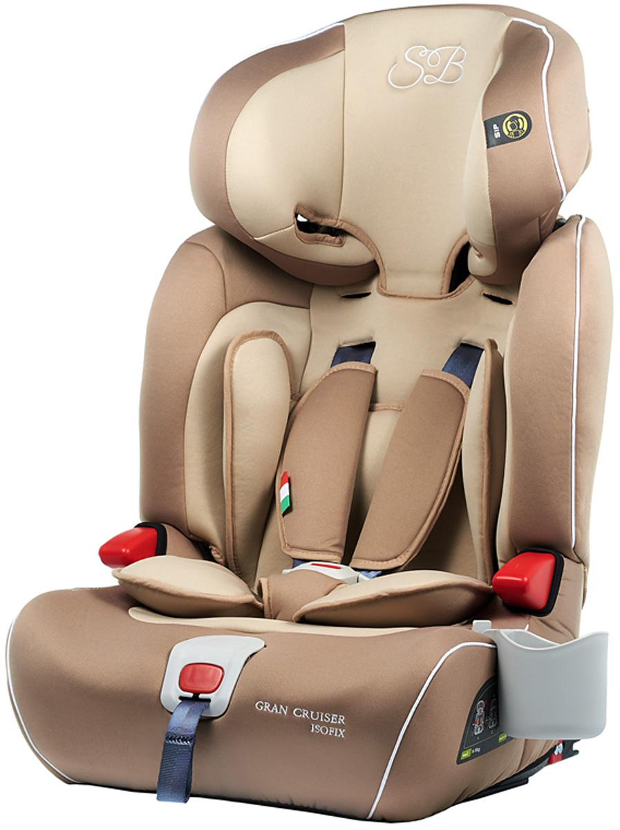 Автокресло Sweet Baby Gran Cruiser Isofix, цвет: бежевый, от 9 до 36 кг