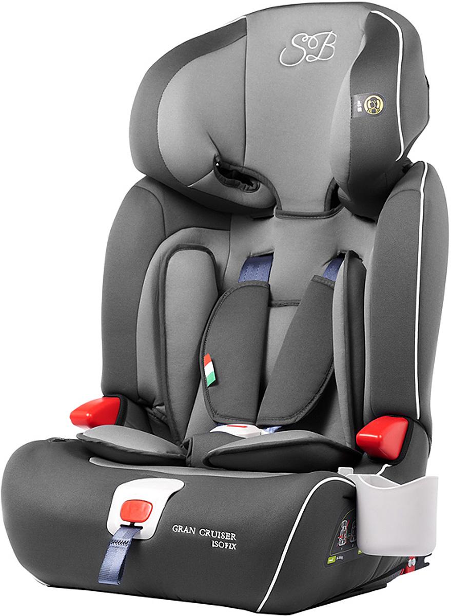 Автокресло Sweet Baby Gran Cruiser Isofix, цвет: серый, от 9 до 36 кг