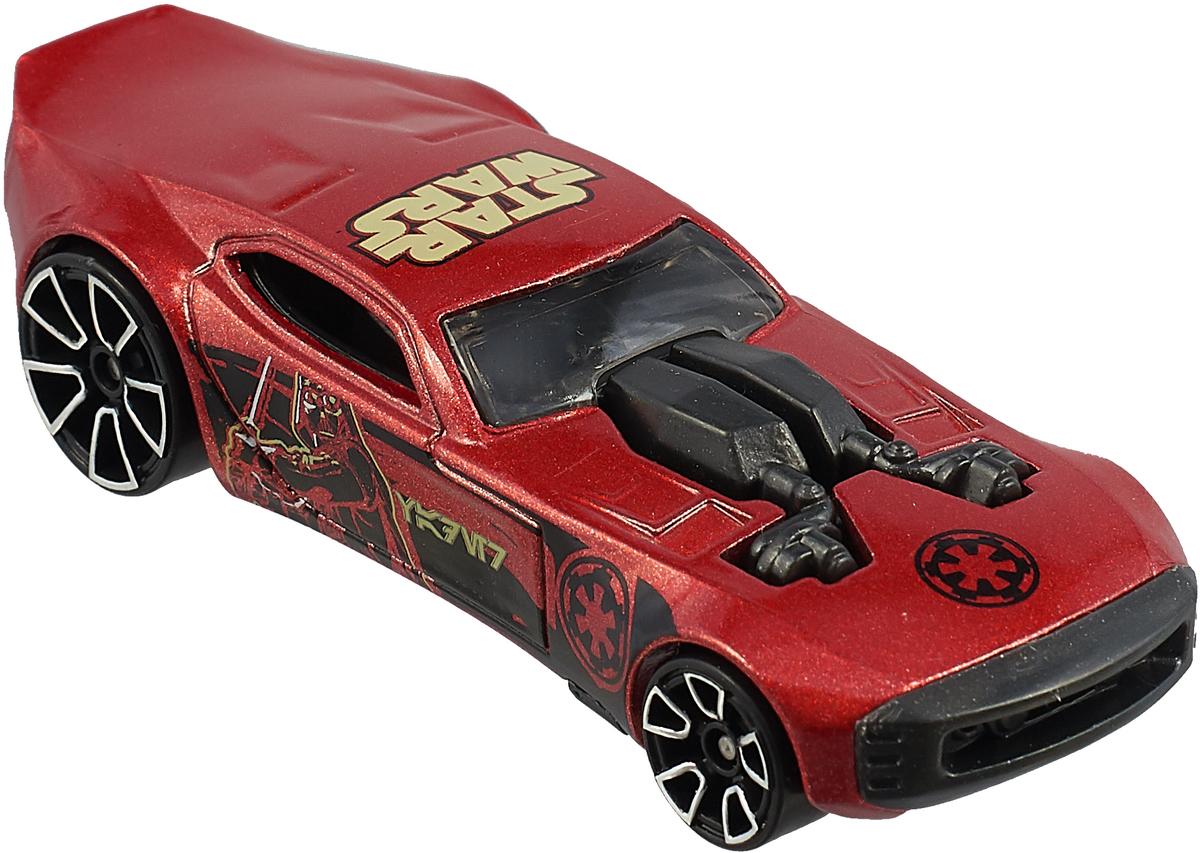 Трековая машинка Hot Wheels Star Wars DARTH VADER, цвет: красный