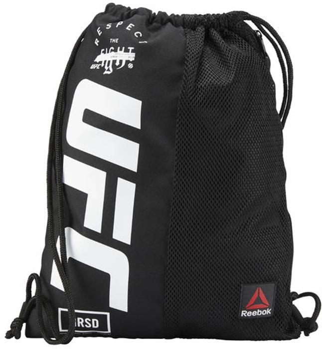 Рюкзак мужской Reebok Ufc Gymsack, цвет: черный. CZ9903 рюкзак мешок nike fb gymsack 3 0 ba5094 435