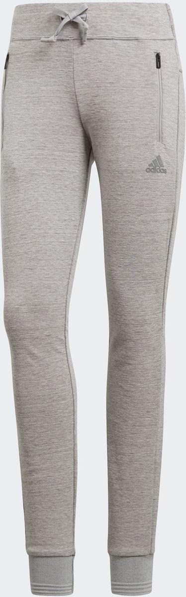 Брюки adidas W Id Slim Pt свитшот женский adidas w id glory crw цвет черный dp3909 размер l 48 50