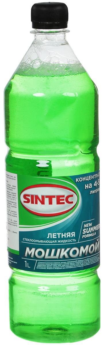 Стеклоомывающая жидкость Sintec, летняя, цвет: зеленый, 1 л